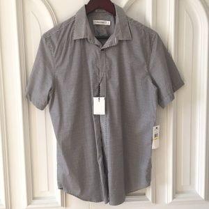 Calvin Klein button up short sleeve shirt